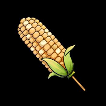 Gear-Freshly Picked Corn Render