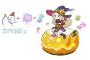 Gear-Emilia, Tyro Witch Rough Sketch 001