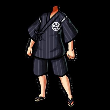 Gear-Navy Jinbei Render