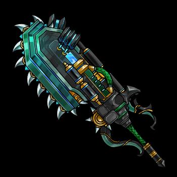 Gear-Chainsaw Surger Render