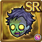 Gear-Zombie Head Icon