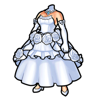 Gear-Divine Bride's Dress Render