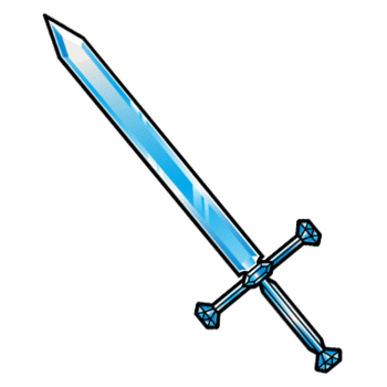 Gear-Glass Sword Render