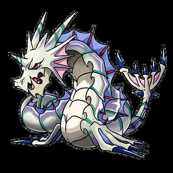 Gear-Serpent Dragon Render