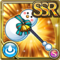 Gear-Stylish Snowman Axe Icon