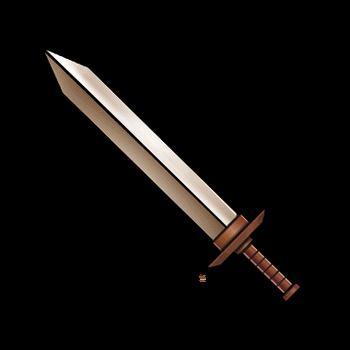 Gear-Bronze Sword Render