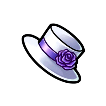 Gear-Mini White Top Hat Render