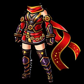 Gear-Crimson Kunoichi Garb Render