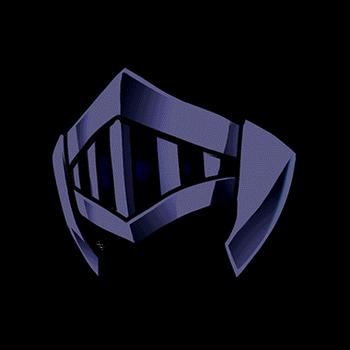 Gear-Decrepit Iron Helm Render