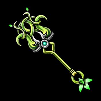Gear-Great Tree Staff Render