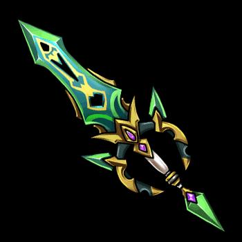 Gear-Jade Blade Render