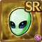 Gear-Emerald Alien Mask Icon