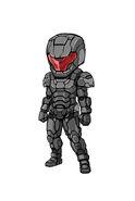 Gear-Tech Marine Helm E.VI and Tech Marine Suit E.VI Illustration 002