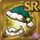 Gear-Green Santa Hat & Beard Icon