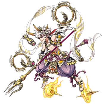 Gear-Nezha, Lotus Prince Render