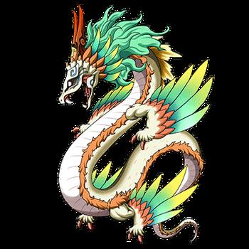 Gear-Quetzalcoatl Render