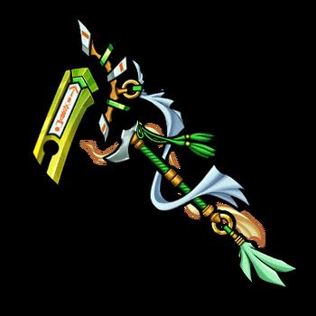 Gear-Wind Tree Scythe Render