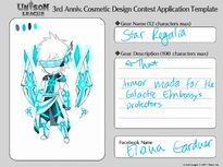 Cosmetic Design Contest-Star Regalia Entry