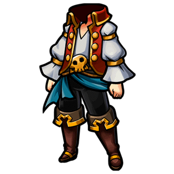 Gear-Pirate Clothes (M) Render