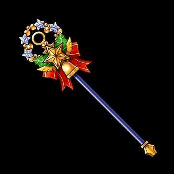 Gear-Candy Cane Staff Render