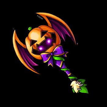 Gear-Halloween Axe Render
