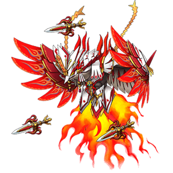 Gear-Kagutsuchi, Flame God Render
