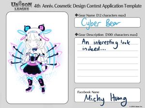 Cosmetic Design Contest-Cyber Bear Entry