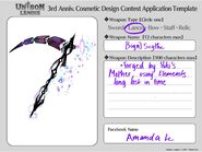 Cosmetic Design Contest--Sign- Scythe Series Entry