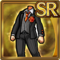 Gear-Orange Three-Piece Suit Icon