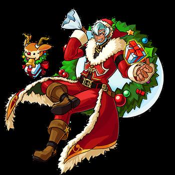 Gear-Santa Render