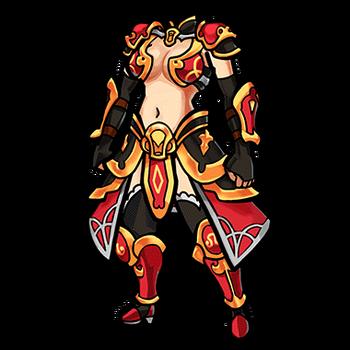Gear-Chinese Battle Dress Render