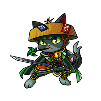 Gear-Kotaro the Storm Cat Render