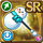 Gear-Snowman Axe Icon