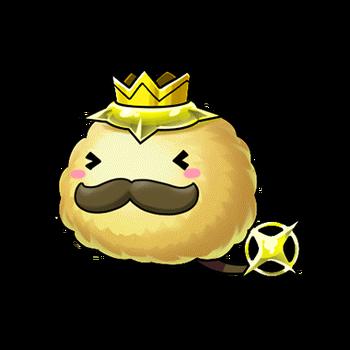 Gear-Yellow Passa King Render