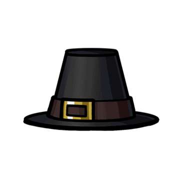Gear-Pilgrim's Hat Render