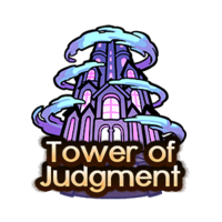 Quest-Tower of Judgment Button