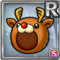 Gear-Reindeer Hat Icon