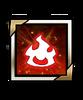 Field Effect-Fire Element Effect Icon