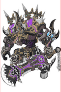 Gear-Dark God Aizen Rough Sketch 001
