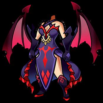 Gear-Lilith's Dress Render