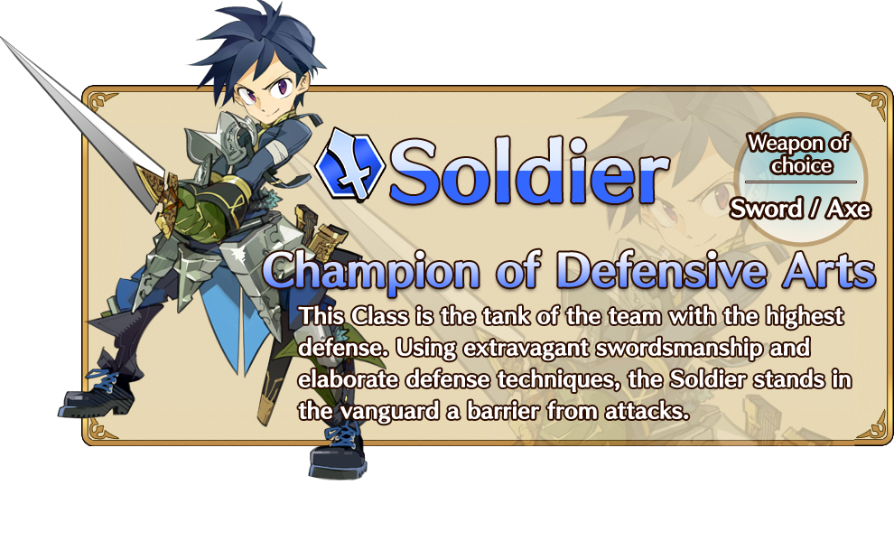 Soldier | Unison League Wikia | FANDOM powered by Wikia