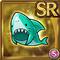 Gear-Shark Hat Icon