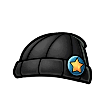 Gear-Black Knitted Cap Render