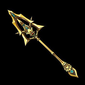 Gear-Thunder Justice Spear Render