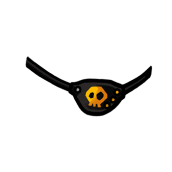 Gear-Pirate Eyepatch Render