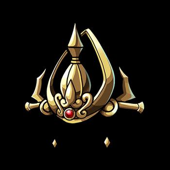 Gear-Thunder Gemmed Crown Render