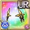 Gear-Bright Cross Barrette Icon