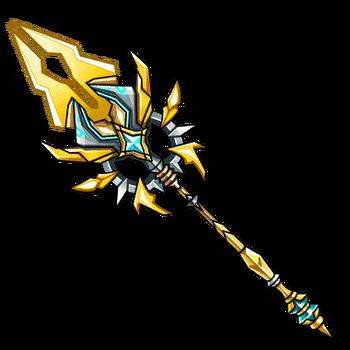 Gear-Brionac- Divine Lance Render