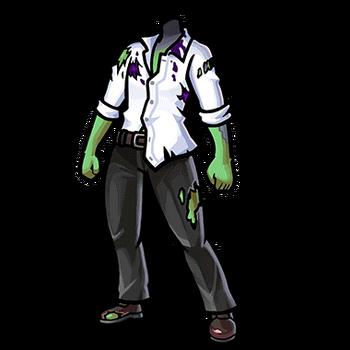 Gear-Zombie Body Render
