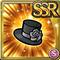 Gear-Rose Hat Icon
